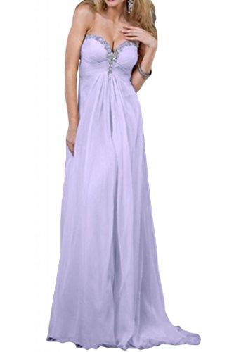 Toscana sposa dall'effetto Chiffon stanotte vestiti a forma di cuore lunghezza dal giovane sposa Party ball abiti da donna alla moda Lilla