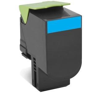 Preisvergleich Produktbild Lexmark 80C2X CE–Tintenpatrone kompatibel für CX510de, Cyan