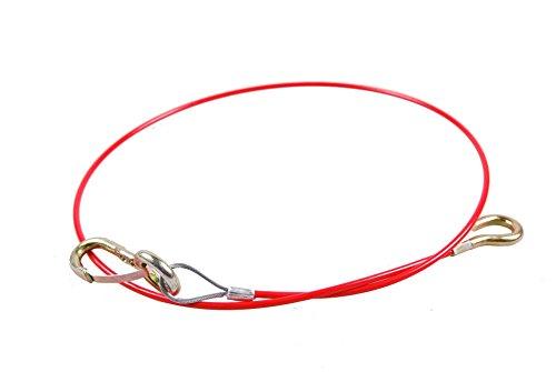 AL-KO Abreißseil 1000 mm, mit H rot, PVC-ummantelt