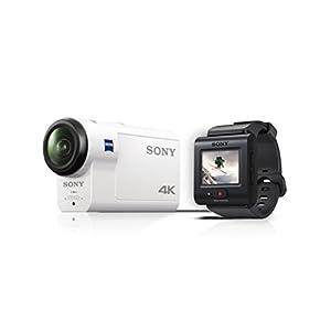 Sony FDR-X3000R 4K Action Cam mit Boss (Exmor R CMOS Sensor, Carl Zeiss Tessar Optik, GPS, WiFi, NFC)