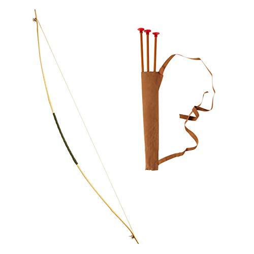 PARTY DISCOUNT Set Pfeil und Bogen, mit Köcher, ca. 100 ()