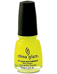 China Glaze Nail Lacquer with Hardner - Lacquered Effect - Celtic Sun, 1er Pack (1 x 14 ml)
