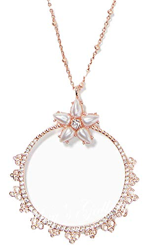 Kate Spade New York Mini Pendant Rose-Gold Chantilly Charm Necklace