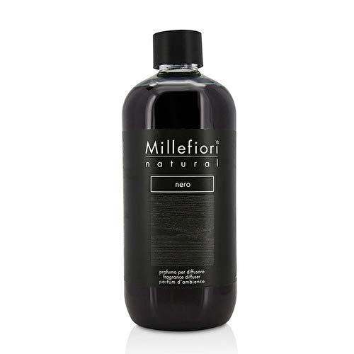 Millefiori natural ricarica per diffusore di fragranza per ambienti 500ml fragranza nero