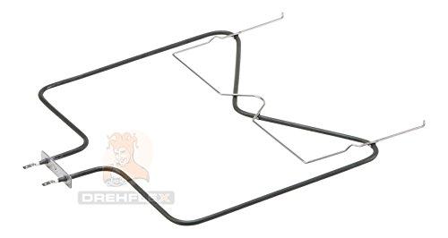 DREHFLEX® - Unterhitze/Heizung/Heizelement - passend für diverse Bauknecht Ignis Philips Whirlpool Ikea Herde/Backofen - passend für Teile-Nr. 481010375734 / /1150 Watt