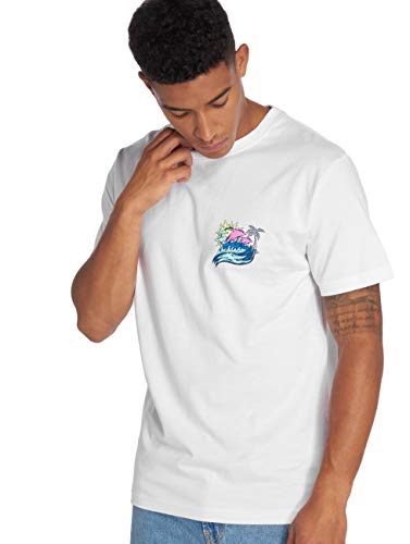 Pink Dolphin Herren T-shirt Roll Tide, white, XL, PD015