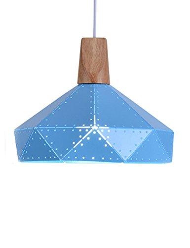 Cozyle Multicolore Moderne à Suspendre Ciel étoilé lumière Fer Nuances, Métal, Bleu 1, 32 cm
