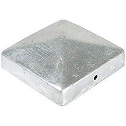 """Pfostenkappen mit Pyramidenkopf für 9 x 9 cm Pfosten aus Stahl / verzinkt """"Berlin II"""""""