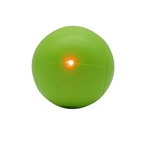 Giocattolo per Animali Domestici Lucente Palla Giocattolo per Gatti luci Colorate luci Lampeggianti Colorate LED Divertenti Giochi per Animali Palla Giocattolo Gatto,Verde