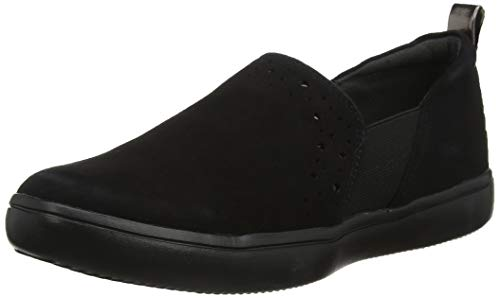 Rockport City Lights Ariell Double Gore Slip on, Mocasines para Mujer, Negro Black Suede 002, 36 EU...