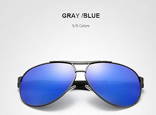 ZGWWNH Polarized Drive Sonnenbrille Pilot Brille Männer Markendesigner Vintage Ray Gafas Oculos Männer Personalisierte Billige Brillen Multi 5