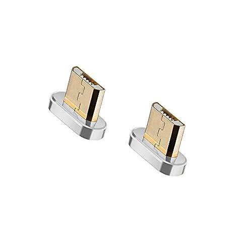 Connecteur Micro USB Magnétique pour NetDot Câble Magnétique Third Generation (Connecteurs Micro USB / 2
