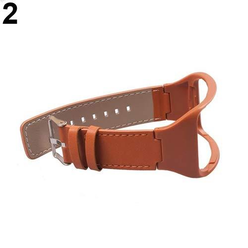 Originaltree - cinturino da polso in tpu per samsung gear s sm-r750, marrone