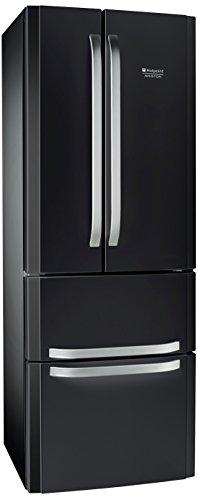 Hotpoint E4D AAA SB C Side-by-Side / A++ / 195,5 cm Höhe / 295 kWh/Jahr / 292 L Kühlteil / 110 L Gefrierteil / NoFrost / nur 0,808 kWh/24 Stunden / anthrazit