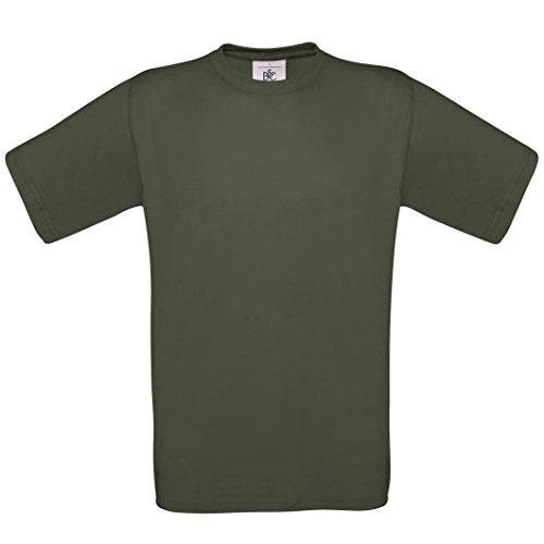 B & C Kollektion Exact 190Shirt BA190 Grün - Khaki