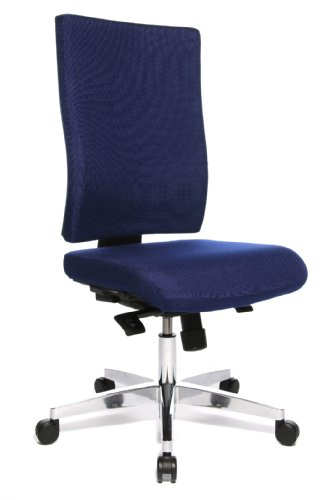 Möbel Büromöbel Express (TOPSTAR 48616 T26 Bürodrehstuhl Lightstar 20 Express 06-16 blau)