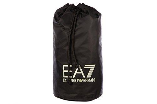 Emporio Armani EA7 zaino borsa uomo nylon originale visibility nero
