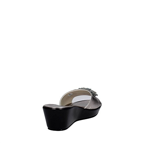 Cinzia Soft IAF 2374-4 002 Mules Femme Argent