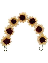 c415b0214 Anuradha Art Red Colour Wonderful Traditional Ambada/Hair Styled Gajra for  Women/Girls