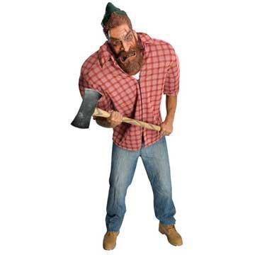 Holzfäller Herren Kostüme (Big Bruizer Holzfäller-Kostüm für Herren)