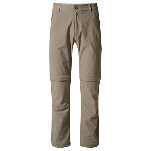 Craghoppers Mens Nosi Life Pro Convertible Zip Off Trousers -