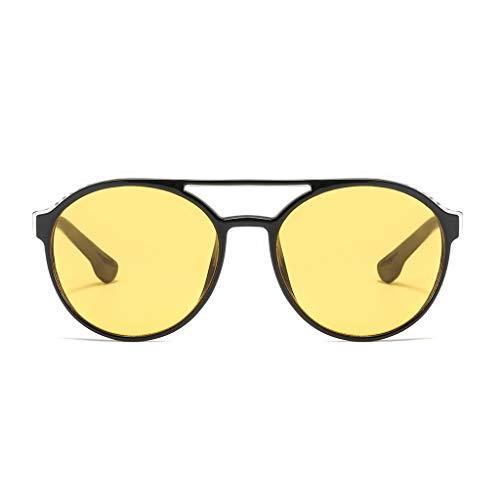 Amcool 2019 Polarized Sonnenbrillen für Männer UV 400 Schutz Sportbrillen Fahren Fahrrad Angeln Golf Unisex Retro 65er Jahre Augenbraue-Stil und einzigartige Vollformat-Sonnenbrillen