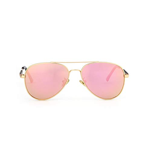 WARM home Wunderschönen Mode Sommer Kinder Sonnenbrillen Polarisator Männer und Frauen Baby Sonnenbrillen Reise Brille Geschenk (Color : Pink)
