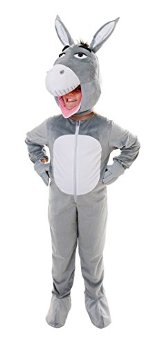 Bristol Novelty Esel Kostüm mit großem Kopf