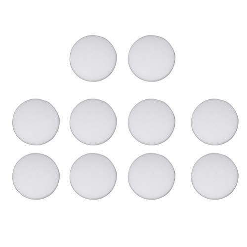 BESPORTBLE 10 stücke Silikon Wandprotektoren Selbstklebende Stoßfänger Runde Türstopper