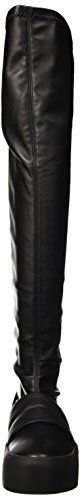 Bikkembergs Pow-Er 714 H.Boot W S.Leather Stretch, Scarpe a Collo Alto Donna Nero
