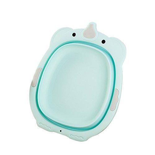 Luerme enfant Lavabo Cute Lavabo pliable portable pour bébé Kids 'visage mains à laver