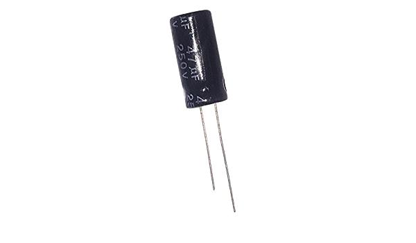 Elektrolyt Radial Kondensator 47uf 250 V 105 C 2 Stück Gewerbe Industrie Wissenschaft