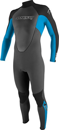 O'Neill Wetsuits Jungen Neoprenanzug youth reactor 3/2 full Graphite/Tahiti/Black, 12 -