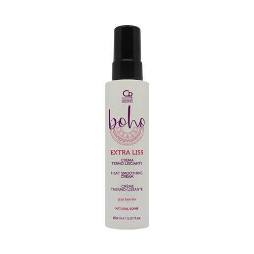 Boho - Extra Liss - Crema Professionale Termo-Lisciante e Termo-Protettiva per Capelli...