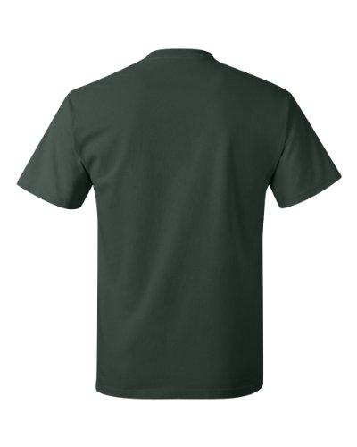 Hanes Mens T-Shirt (5250) Deep Forest