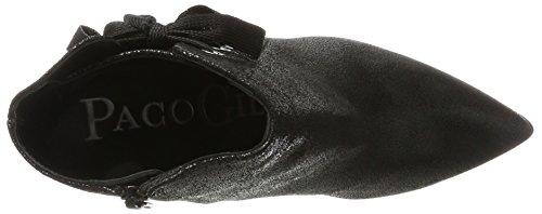 Paco Gil Damen P-3333 Stiefel Schwarz (Black)
