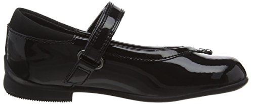 Clarks Kids Dolly Babe Inf, Baskets Basses fille Noir (Black Pat)