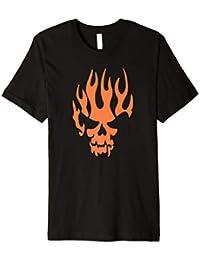 Piratenhemd Gespenstisches Kürbis-Piraten-Kostüm-Shirt