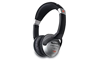 Numark HF125 Lightweight Headphones with 40 mm Drivers and Adjustable Ear Cups