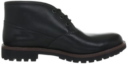 Clarks Montacute Duke, Boots homme Noir (Black Leather)
