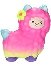 Squishy Kawaii Squishy Grandes Con Olor Llamas Adorables Slow Lising Fruits Squeeze Stqueezing Stress Juguetes