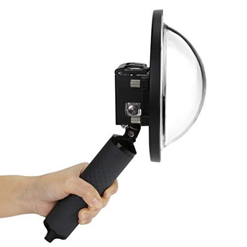 Für gopro5 / 6 / 7Waterproof 6inch Tauch Domes Fisheye Lichtblende für GoPro Hero 5 6 7 (Farbe: schwarz)