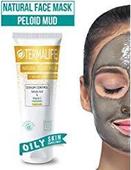 Termalife Sebium Control Schlamm-Maske - Gesichtsmaske für fettige Haut - Gegen Hautunreinheiten, Pickel, Mitesser, Akne - Natürliche Reinigung und Peeling - Tube 150 g für mind. 10 Anwendungen