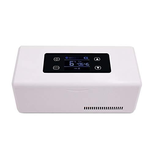 HSDCK Portable Medicina Frigorifero Portatile per Auto Piccolo Viaggio Box 2-8 ° C Dispositivo di Raffreddamento dell'insulina e l'insulina Frigorifero Mantiene Fresco e Isolato