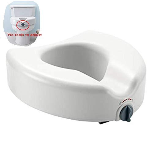 YAOBAO Toilettensitz Riser - Erhöhte Toilettensitz, 5