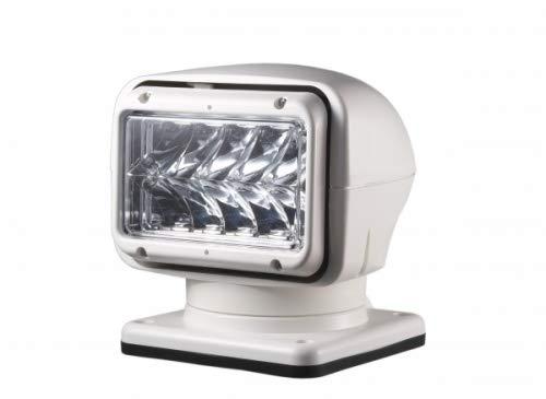 waypoint-gps LED Suchscheinwerfer 350.000 Candela 50W, 12/24V LED Ausführung weiß - permanente Montage