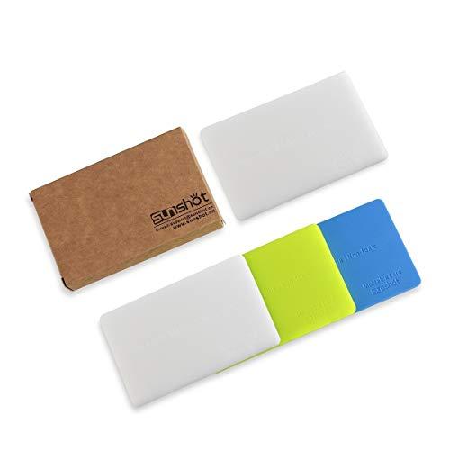 Sunshot modellabile colla in plastica, forma a qualsiasi shap, mend creare o riparazione piccolo in molti modi, forma riutilizzabile saldamente e durevole di 3pezzi (blu, verde, giallo) 4pcs(byww)