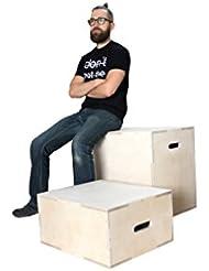 Crossfit Jump Box Plyo Box Sprung Box offizielle Crossfit Wettkampf Maßen Sprungkasten