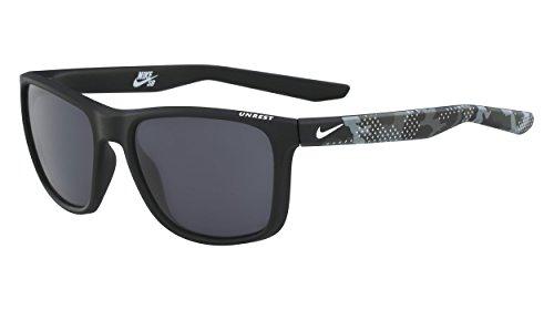 Nike Herren Unrest Ev0922 Se 001 57 Sonnenbrille, Schwarz (Mt Black/Camo W/Dk Lens)