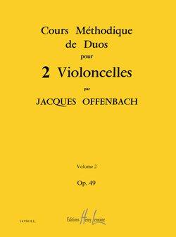 Cours duos violoncelles Op.49 n°2